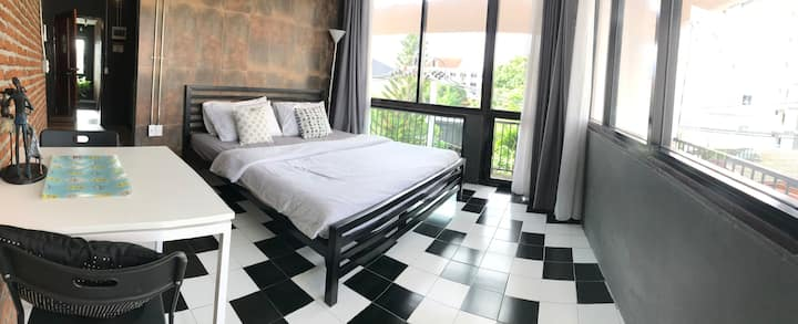 Private 2 BDRs +2 baths Chiangmai Old Town(3/9B)