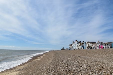 Waterfront - Modern holiday cottage in Aldeburgh - Casa