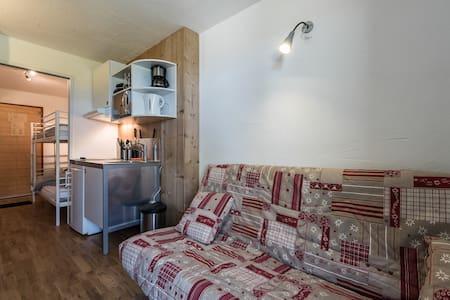 Studio à 2 min des pistes 16.5 m2 - Tignes - Apartemen
