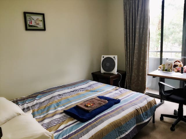 Quiet room close to the Train& City - Artarmon