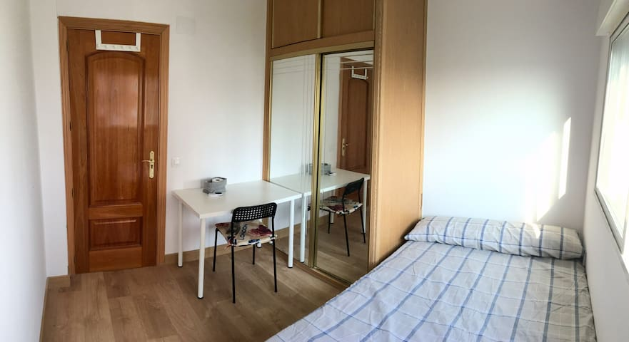 NEW home-Double Bed-15mins to Sol by metro