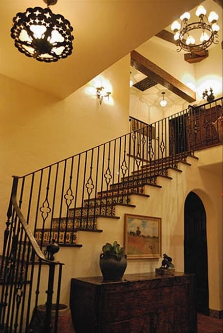 Stairway to bedrooms upstairs