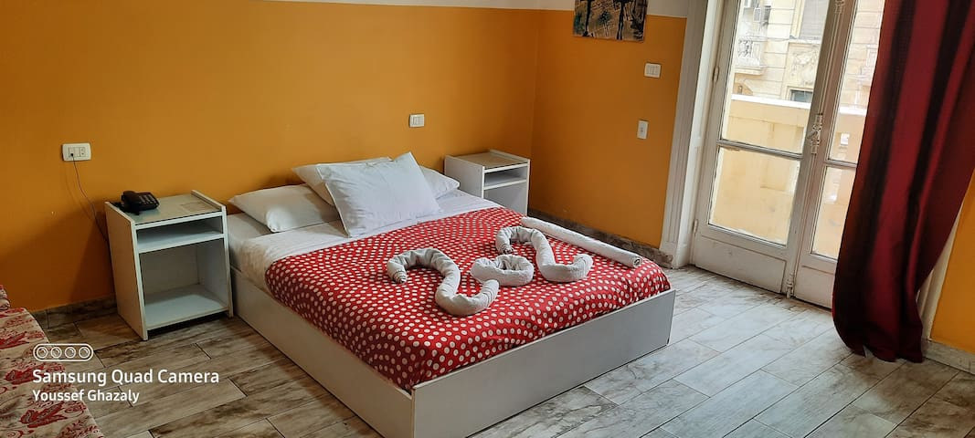 Large Bed In Downtown