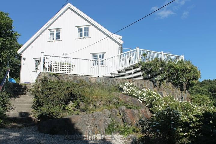 Stort hus på Revesand, Tromøy