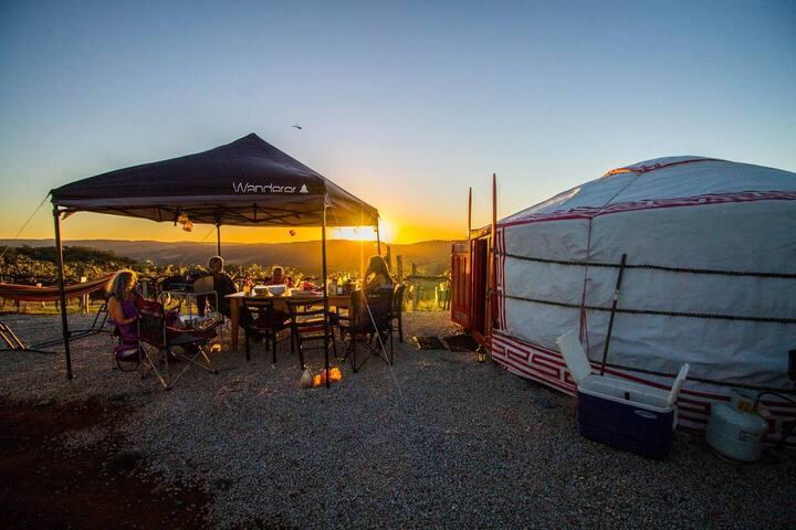 The yurt alpine retreat 2