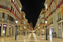 Famosa y espectacular Calle Larios....