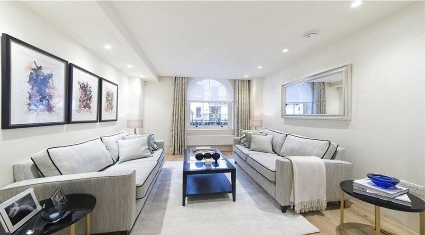 Luxury 2 Bedroom Duplex with Terrace in Belgravia