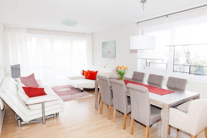 Modernes Appartement im Zentrum von Dillingen