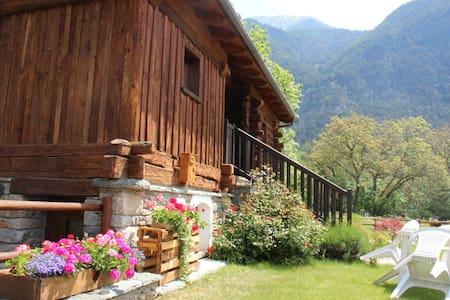 Maison typique Val d'Ayas