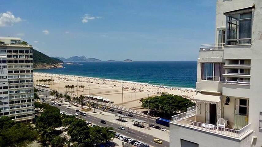 Quarto com vista para praia de Copacabana - Rio de Janeiro - Appartamento