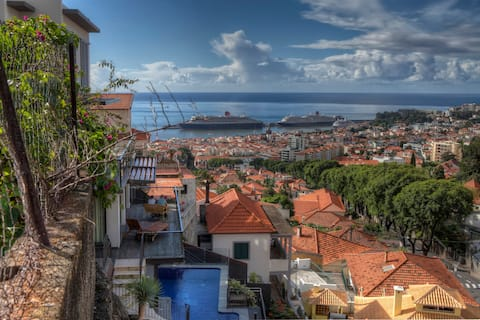 Number 15 Funchal Ocean & City View Villas  Nº1