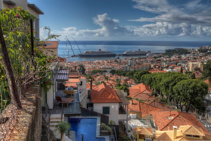 Number 15 Funchal Ocean & City View Villas  Nº1