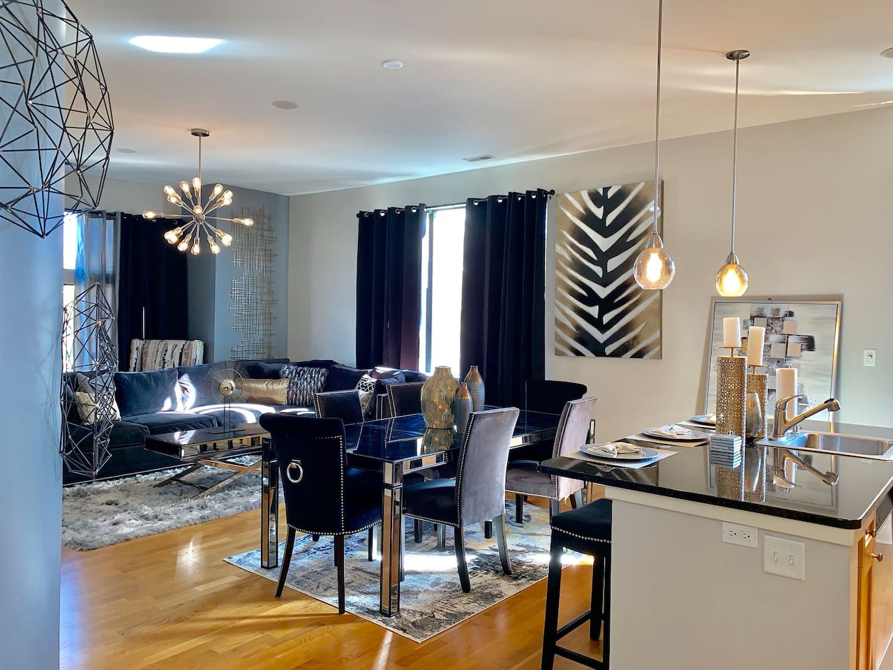 Open Dining -Living Room Space