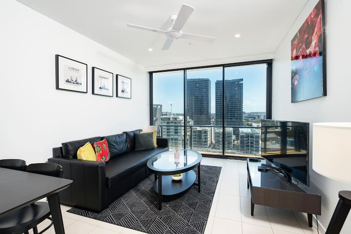 ☆Amazing CityView Southbank Modern1BR|ParkingPool