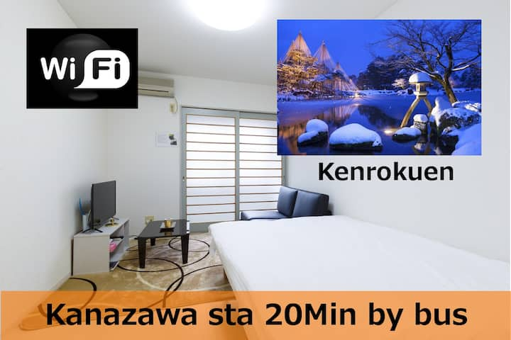 #102Kanazawa Dome-FreeParking & 5min to main place