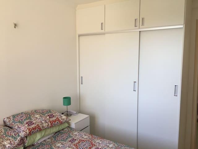 Vista do quarto (II)