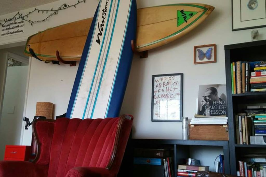 Living Room (Surfboards may be used :))