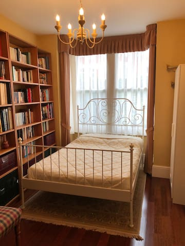 'Studious' room for bookish types in family home