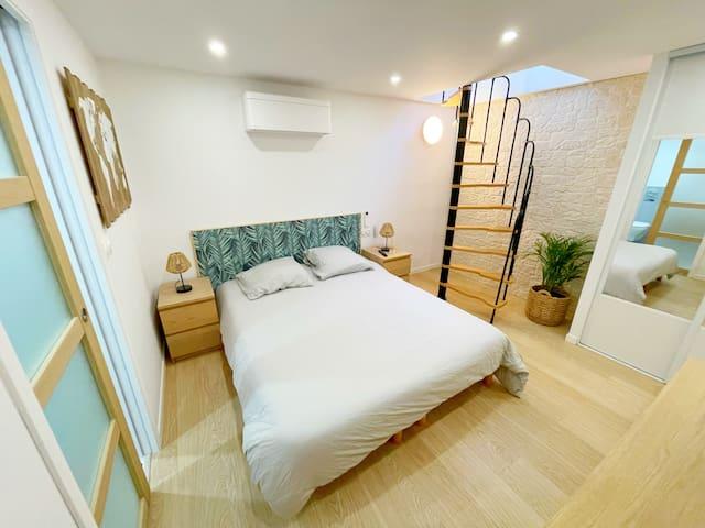Chambre - Bedroom (underground)