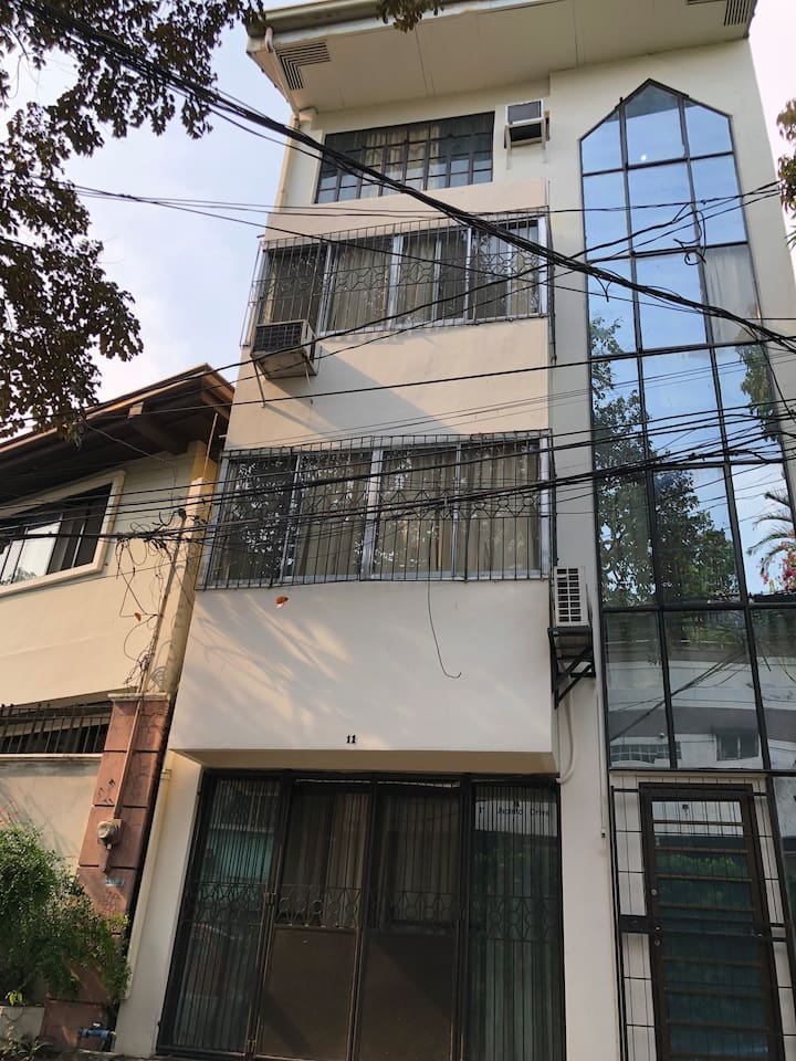 Four Story House in a Safe Place