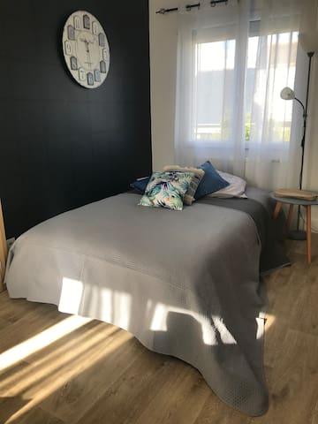 canapé lit salon appart 2
