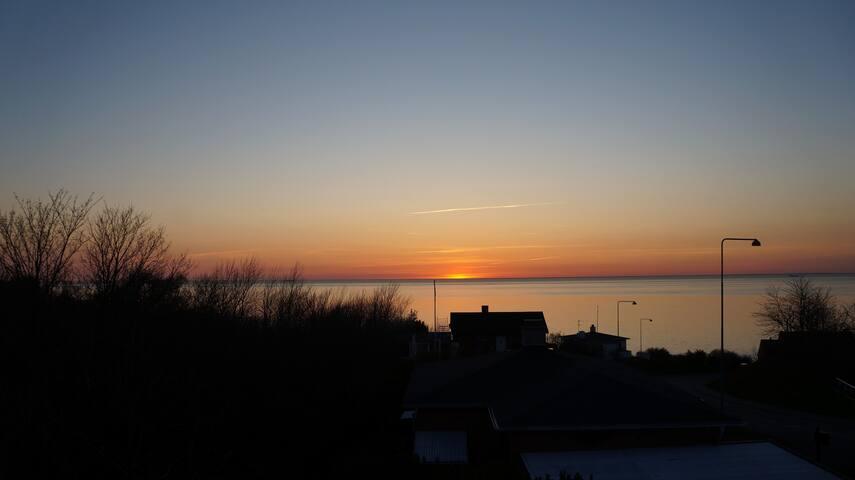 Bornholms flotteste solnedgang