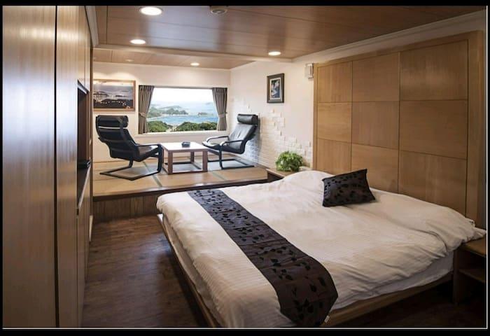 海景窗雙人房-九份山海觀