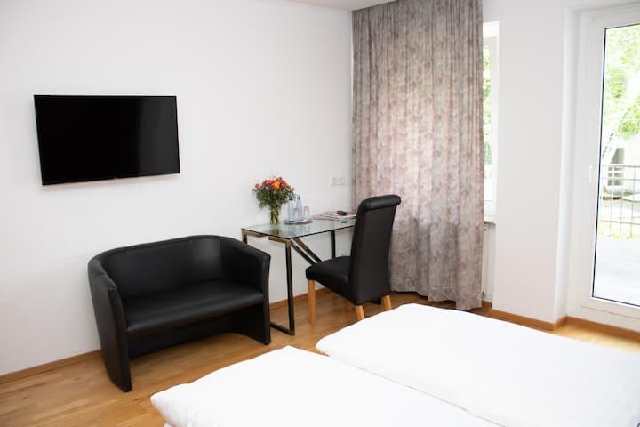 Wunderschöne Hotelzimmer im Herzen von Düsseldorf