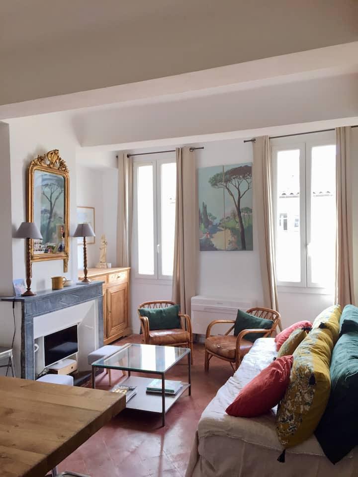 Appartement rénové climatisé T3 emplacement idéal