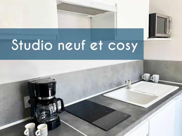 Agréable studio neuf