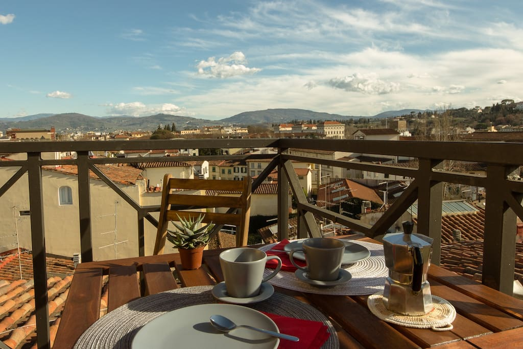 Ghibellina terrace apartments for rent in firenze for 110 3rd dilido terrace