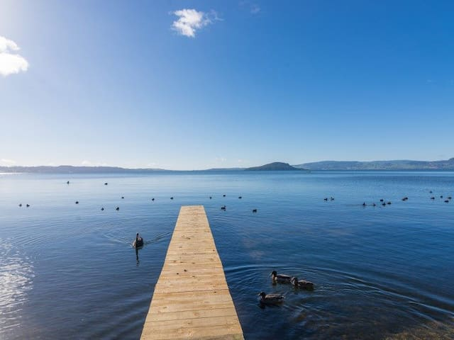 Parawai Cottage - Access to the Lake