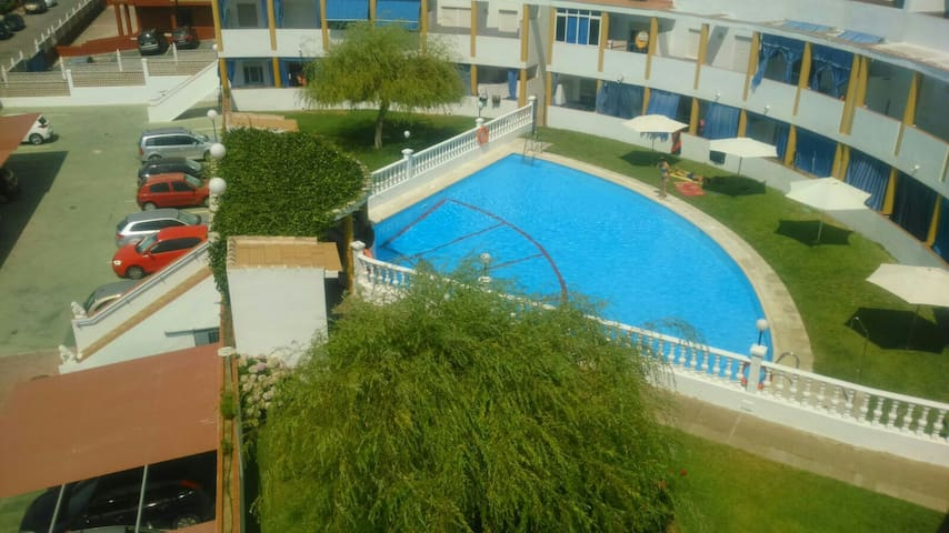 Apart agradable,Picina comunitaria - Huelva - Appartement