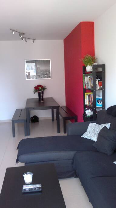 Living Room with Balcony Sea View - Salón con Balcón Vista Mar
