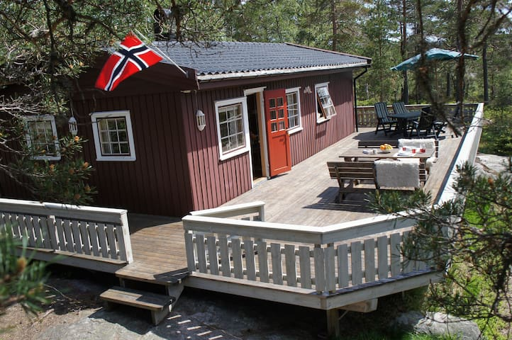 Lovely cabin in south of Norway for 6pers.