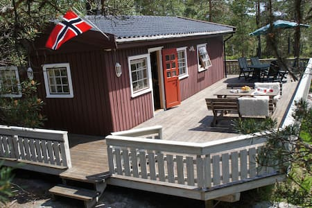 Lovely cabin in south of Norway for 6pers. - Froland