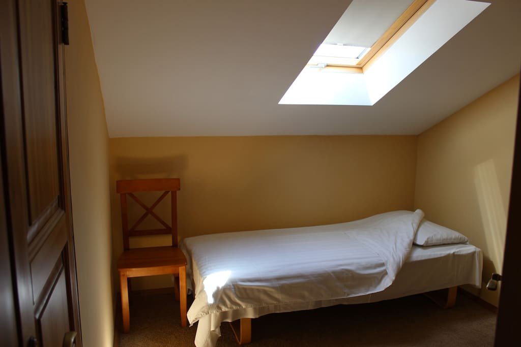 The smallest bedroom with 1 or 2 single beds - for children