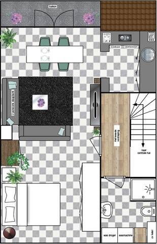 apartment second floor