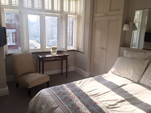 Sunny room in a happy home
