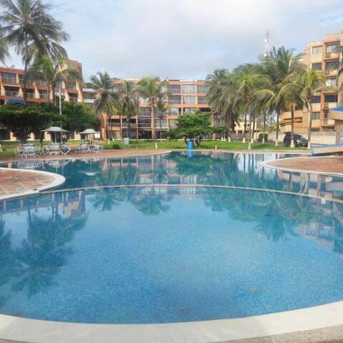 Apartamento de playa en el paraíso de Tucacas