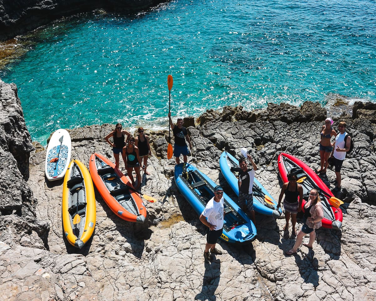 Kayaking tours to Blue Cave run daily or you can rent one and explore the Adriatic Sea at your own leisure.