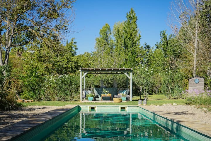 Luxury country house with pool near Ronda.