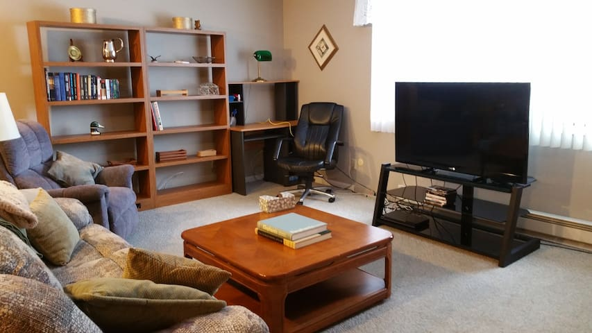 Quiet condo while away from home - Schererville - Appartement
