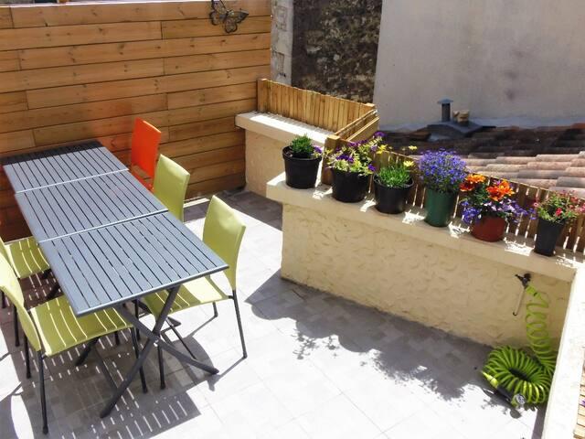 La Petite Gemme - Terrace Room - Duras