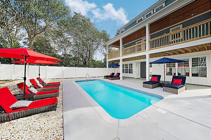 Brand-New Home w/ Pool & Theater – Near Beach!