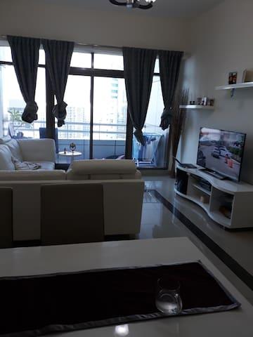 Dubai Home with a view to Burj al Arab and the sea