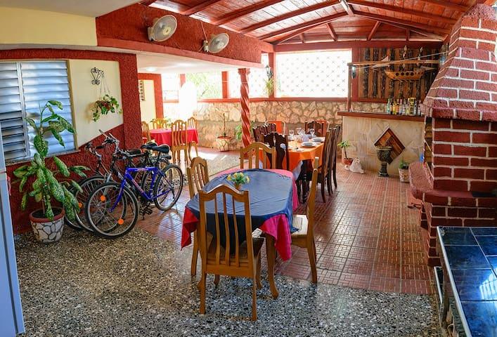 """Hostal """"Brisas del Sur"""". Room 2"""
