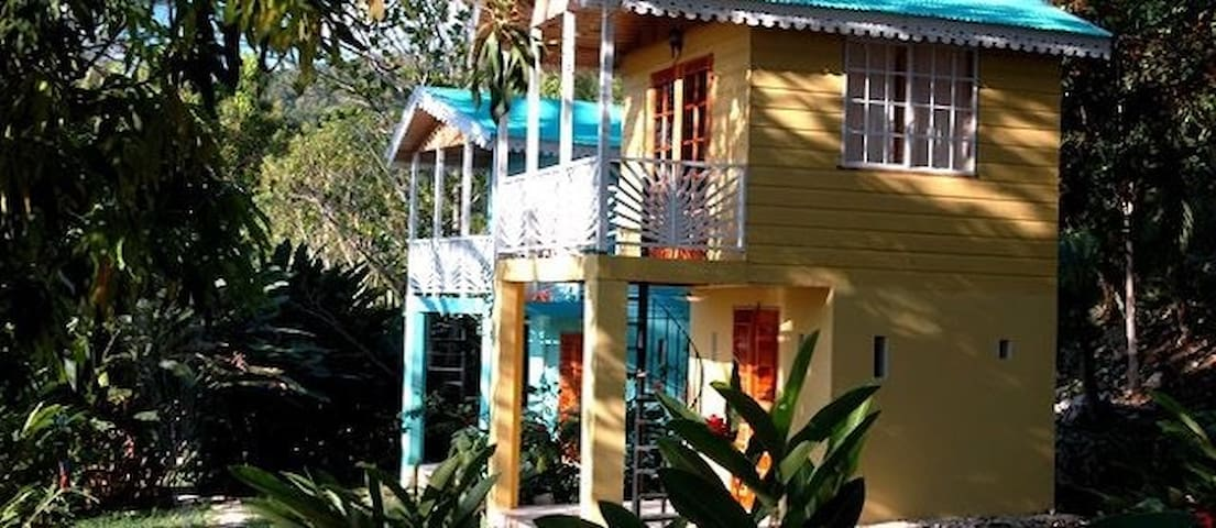 Yoga center, Mountain retreat - Negril - B&B