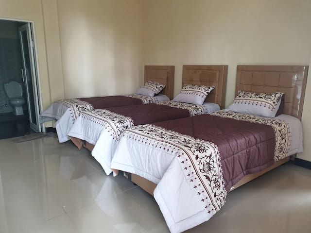 Bedroom 3 - 3 Single + 1 Single Extra Bed