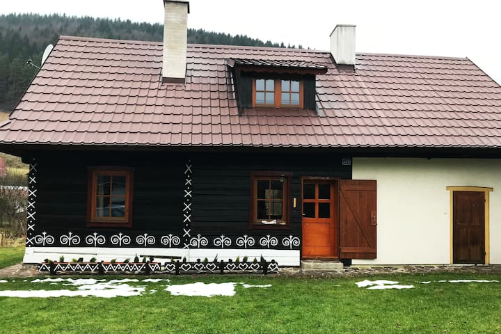 Cozy wooden house ideal for relax